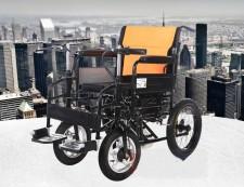 全新電動輪椅  (115*68*92cm) 黑色w2780