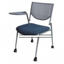 新款彩色膠椅連寫字板 C-CE091