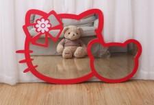 全新 Hello Kitty 掛牆鏡 (111.6*680CM)  2種顏色 w5180